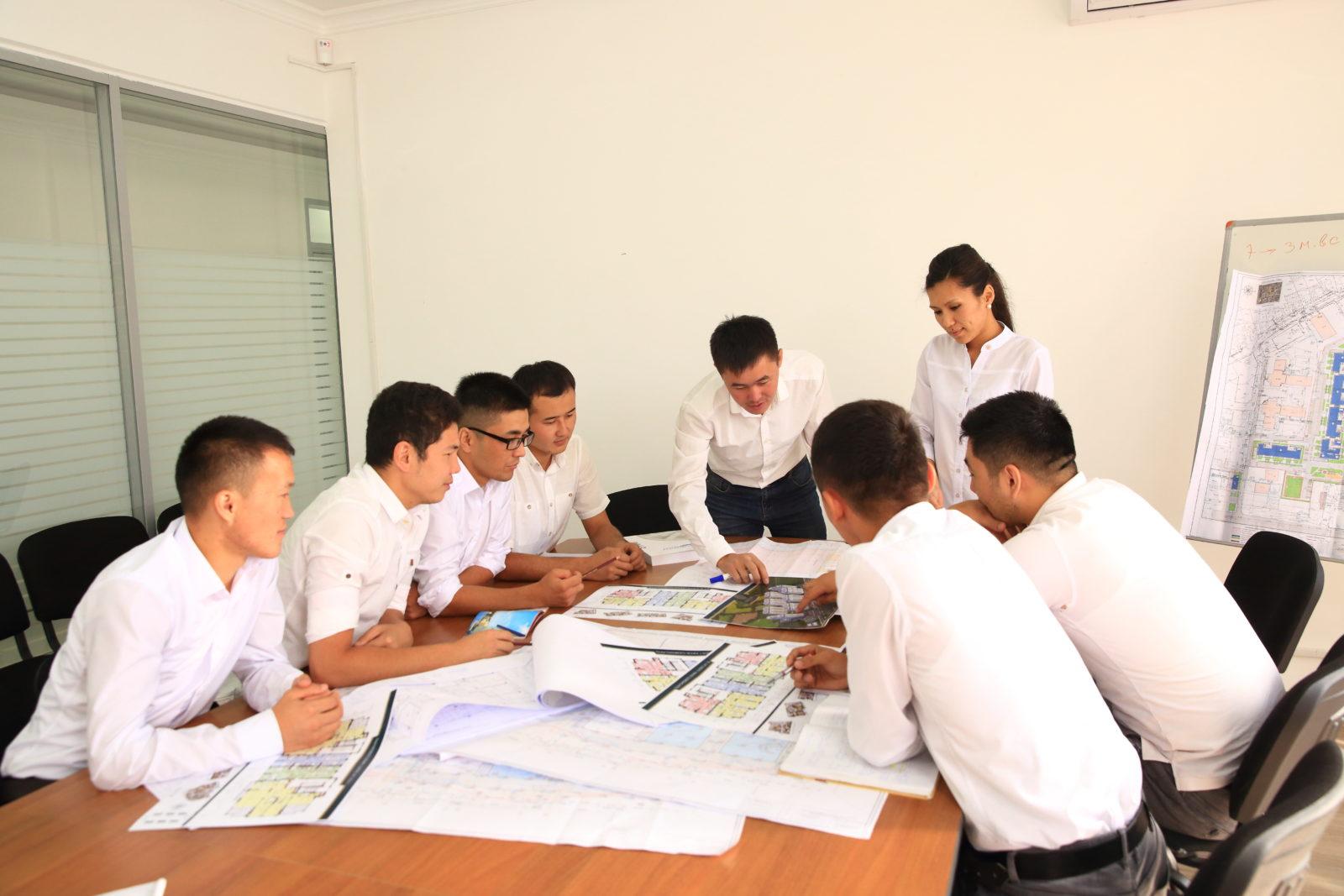 Разработка стратегии строительной компании